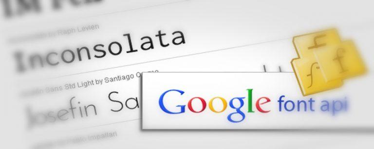 Google Font: il modo più semplice di utilizzare i fonts