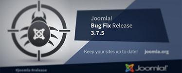 Disponibile aggiornamento Joomla! 3.7.5