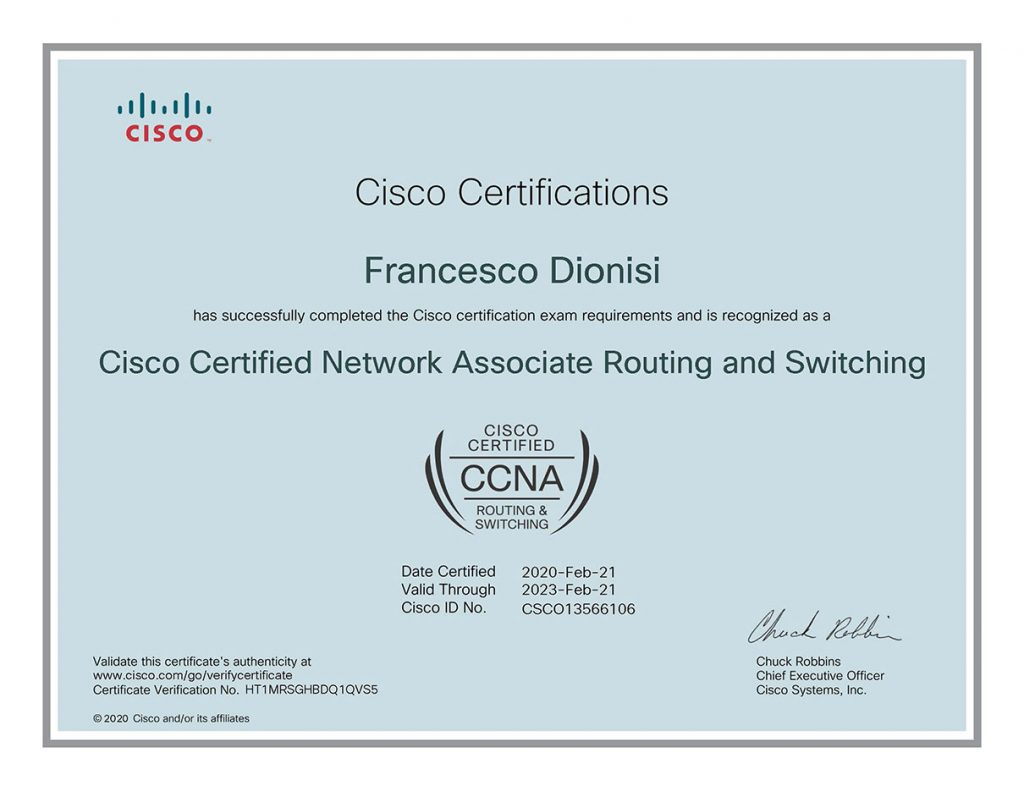 Cisco-Certified-Network-Associate-Routing-and-Switching-certificate