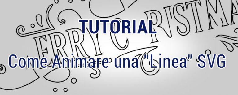 """Come Animare una """"Linea"""" SVG"""